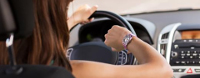 Drivers Warned Of Dangers Of Using A Smart Watch At The Wheel