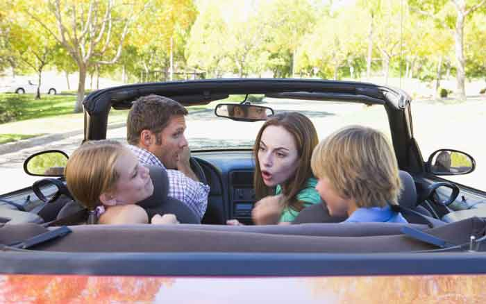 Top 10 Causes Of Car Journey Rows Revealed