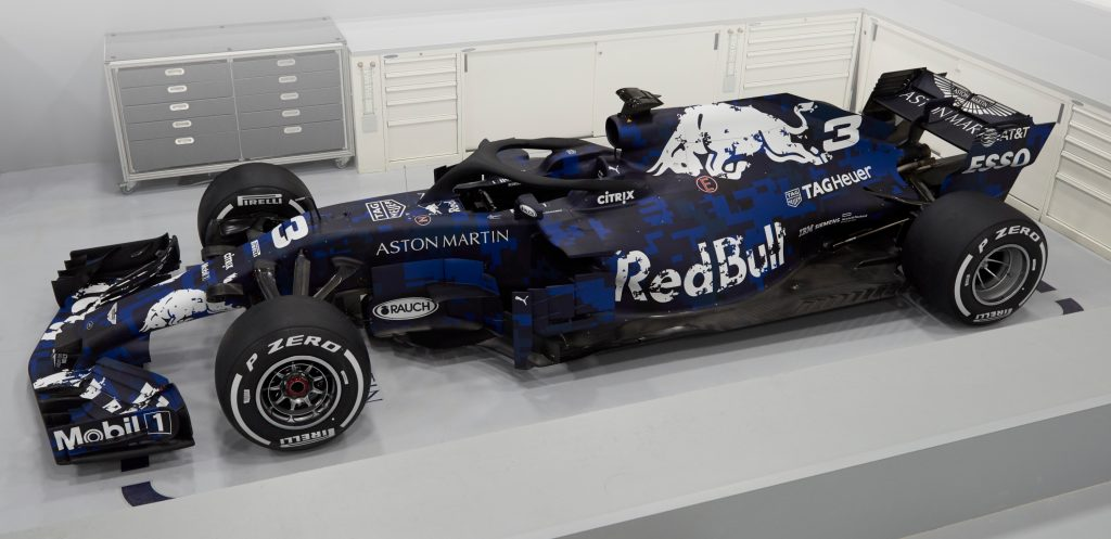 Red Bull launch new F1 car