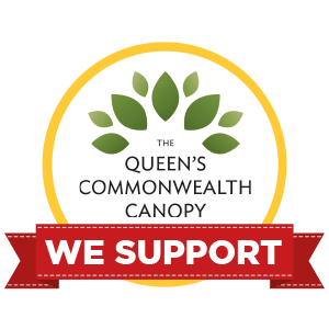 We support The Queen's Commonwealth Canopy